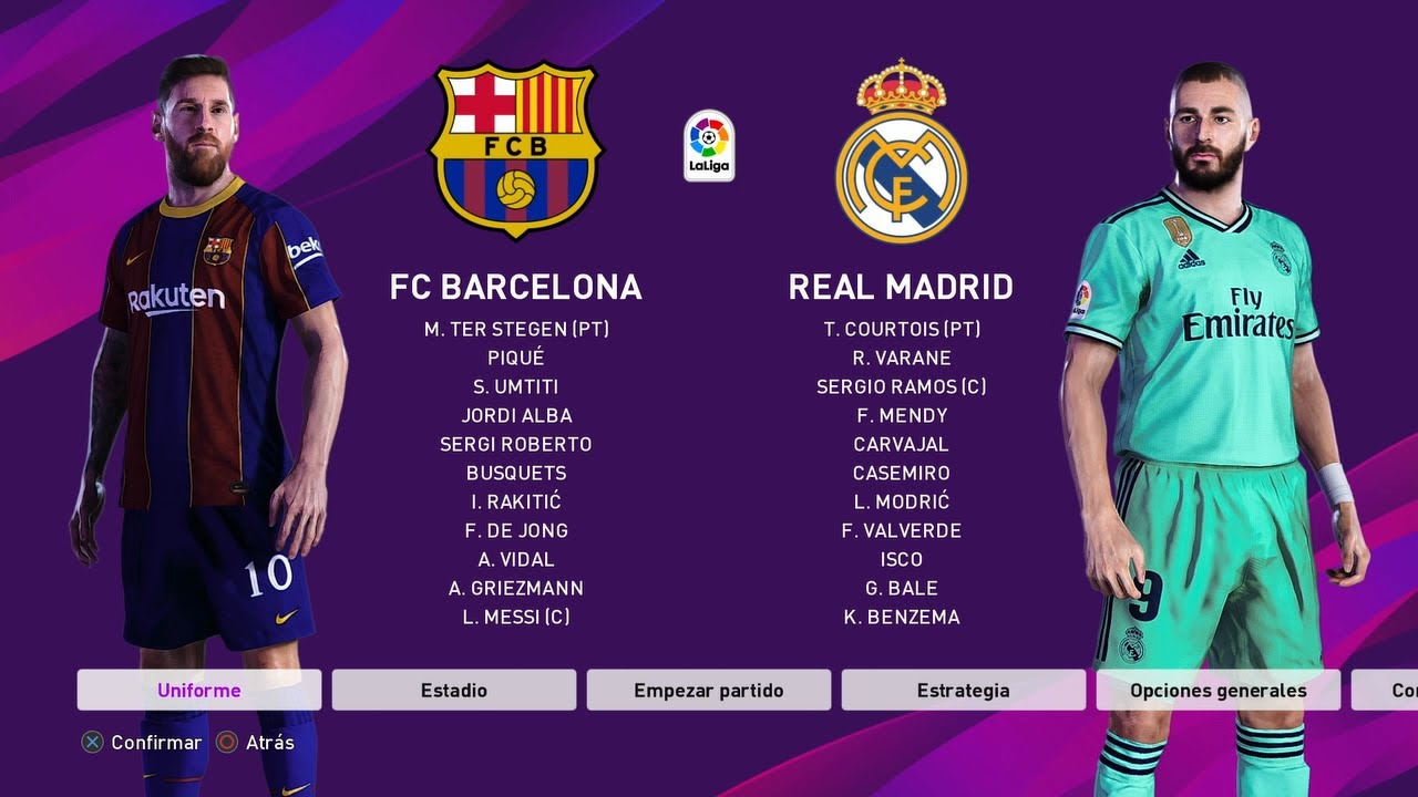 Barcelona Real Madrid 2021