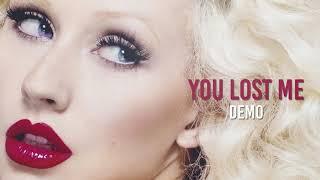 Christina Aguilera - You Lost Me (Demo)