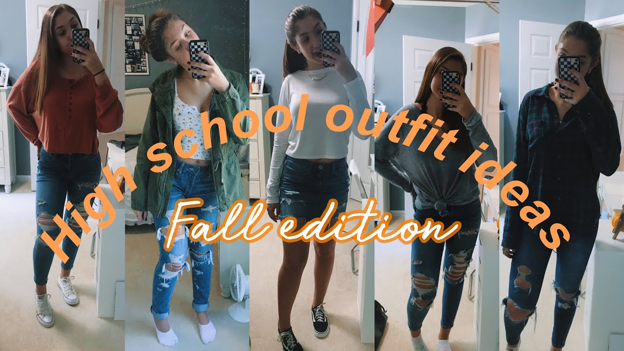 [VIDEO] - HIGH SCHOOL OUTFIT IDEAS: fall edition 4