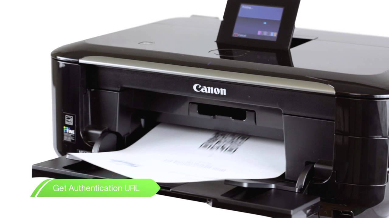 Canon Get Started -- PIXMA printing from Google Cloud Print