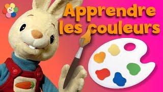 Apprendre les couleurs aux enfants | Coloriage pour les tout-petits avec Henri Le lapin | BabyFirst