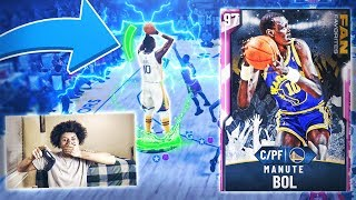 *NEW* 7'7 PINK DIAMOND MANUTE BOL IS NOT HUMAN! TALLEST PLAYER IN THE GAME! NBA 2K20 MYTEAM GAMEPLAY