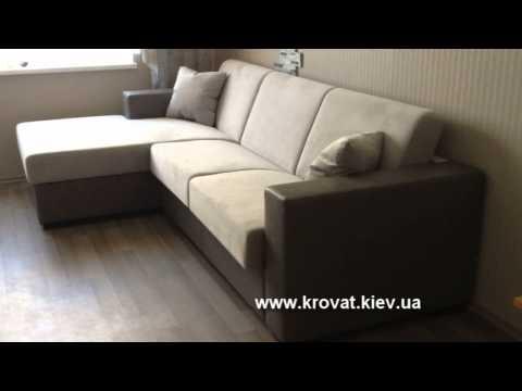 Серый диван в комнату