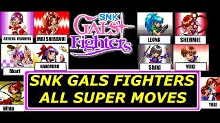 SNK GALS FIGHTERS ALL DESPERATION MOVES 1080P HD