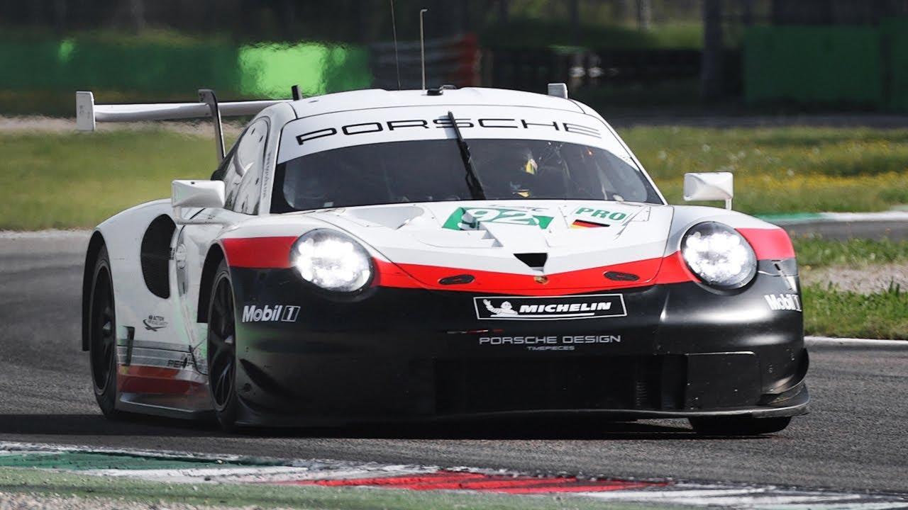 3d Binaural Audio Porsche 911 Rsr 2018 991 2 Gt3 R 2019 Cayman 718 Gt4 In Action Youtube