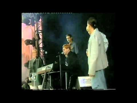 Elton John & Backstreet Boys Live - Friends Never Say Goodbye