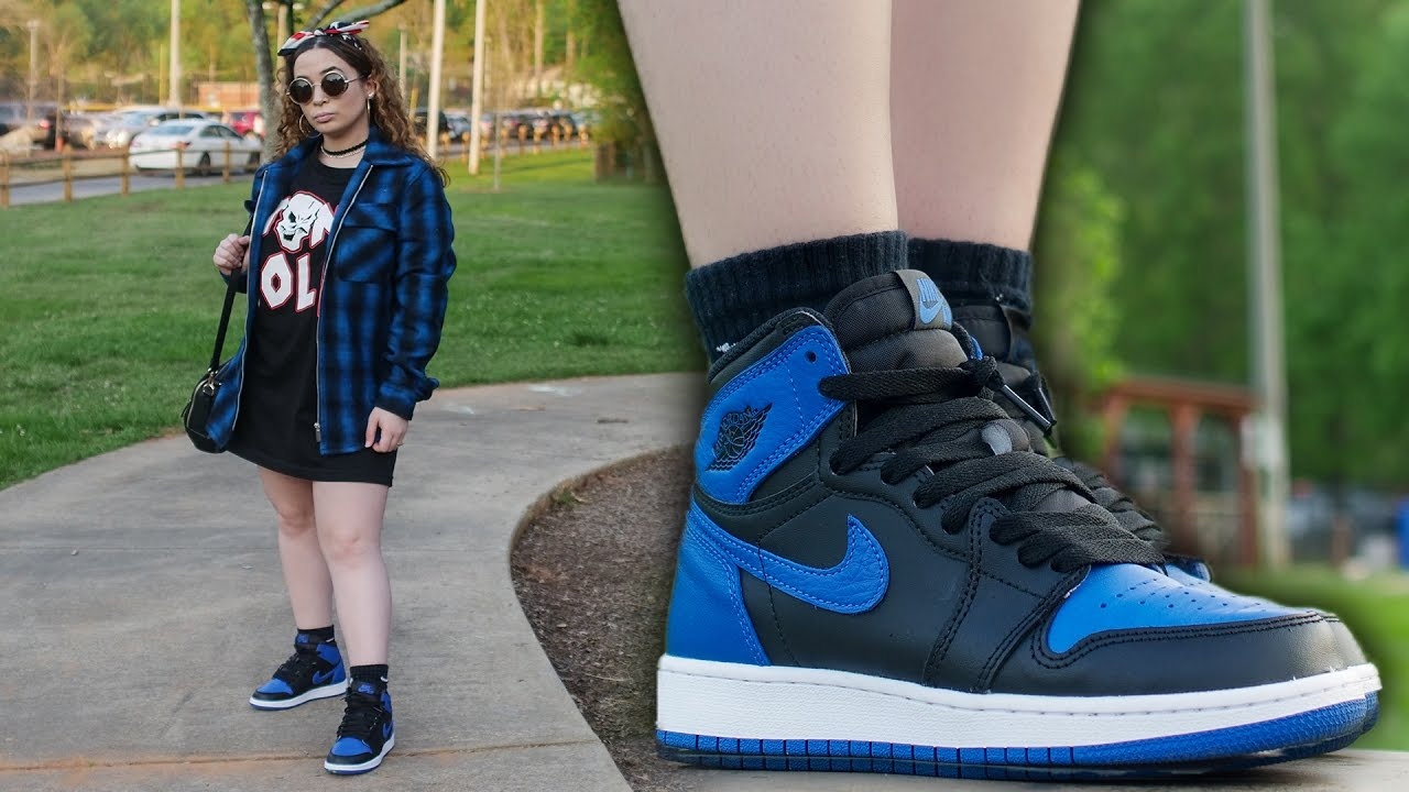 Fit Of The Day Ft Jordan 1 Royal In 4k Hd Youtube