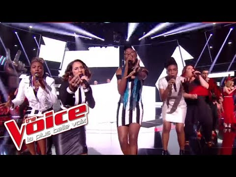 Les 16 Talents - « Shape Of You » (Ed Sheeran)   The Voice France 2017   Live