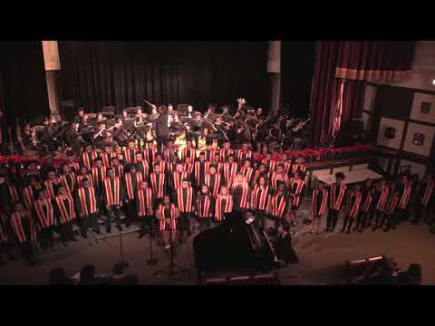 """""""At the River"""" - Lindblom Combined Choirs and Symphonic Band"""
