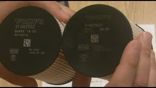 ISNEXT Топливный фильтр VolvoXC60 подделка оригинала 31342920
