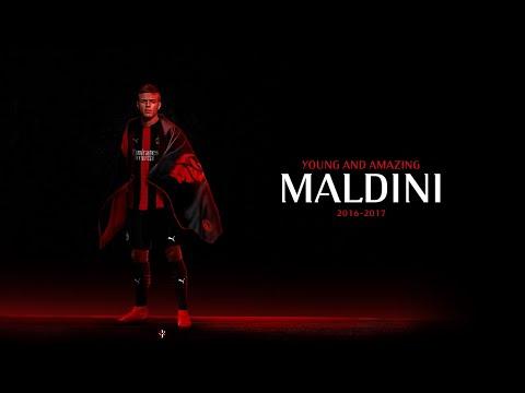 DANIEL MALDINI - YOUNG & AMAZING PLAYER U16 | All Goals & Skills - MILAN UNDER 16 | By MilanActu HD
