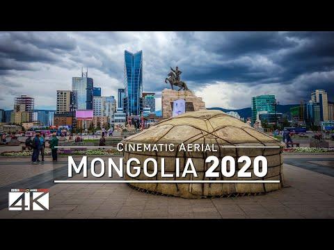 【4K】Drone Footage   MONGOLIA ..:: Aerial Ulan Bator 2019