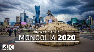 【4K】Drone Footage | MONGOLIA ..:: Aerial Ulan Bato...