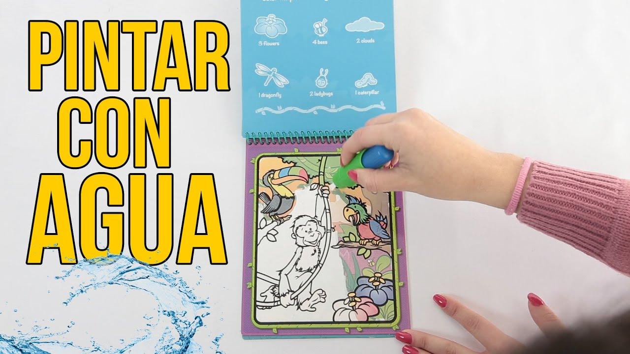 Pintando con agua - Juguetes para Niños - YouTube