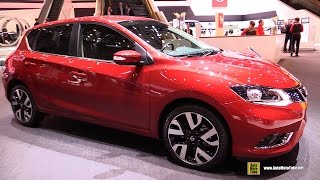 2015 Nissan Pulsar Tekna - Exterior and Interior Walkaround - 2015 Geneva Motor Show
