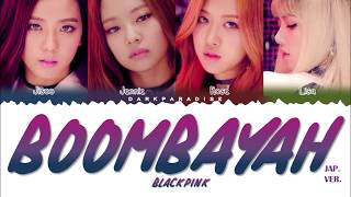 BLACKPINK - BOOMBAYAH (Japanese ver.) (Color Coded Lyrics) Free Download Mp3