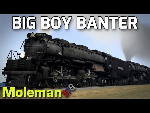 Big Boy Banter! | TS2016 | Union Pacific 4-8-8-4 Big Boy | Sherman Hill