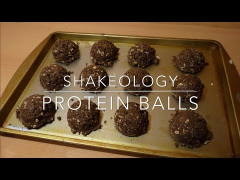 Shakeology Recipes Chocolate Peanut Butter Protein Balls
