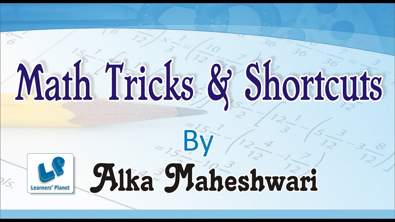APTITUDE SHORT TRICKS PDF
