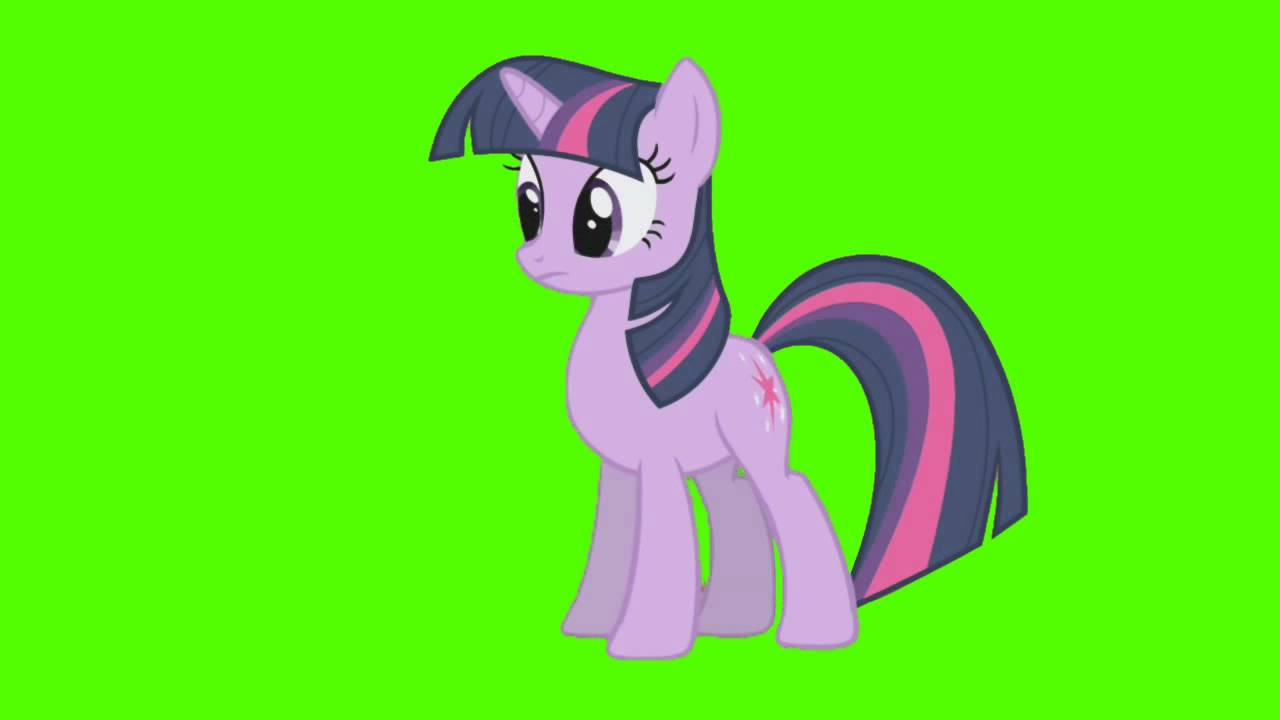 """Twilight Sparkle: """"Not This Again"""" - Green Screen Ponies ..."""