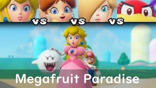 Super Mario Party Peach vs Daisy vs Rosalina vs Pom Pom #12