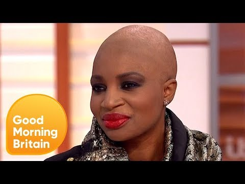 Black Model Defends Her Choice to Lighten Her Skin | Good Morning Britain