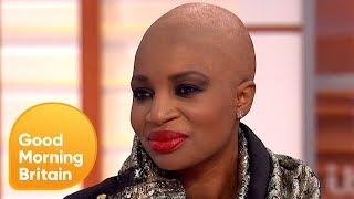 Black Model Defends Her Choice to Lighten Her Skin | Good Morning Britain