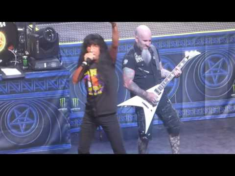 """""""Among the Living"""" Anthrax@Wellmont Theatre Montclair, NJ 3/29/17"""