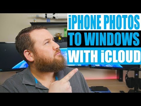 How To -  Transfer Photos from iPhone to Windows 10 PC.