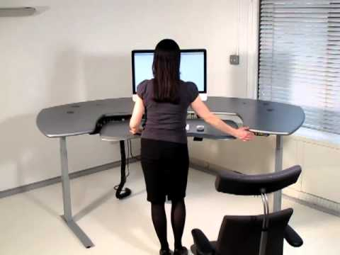 Biomorph Maxo Series Motorized Standing desk YouTube