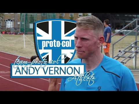 GB runner and Team proto-col athlete Andy Vernon summarises his training session to prepare him.