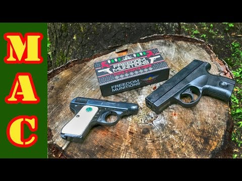 Cheap Guns Part 2: SW380 vs Galesi-Brescia .25 ACP