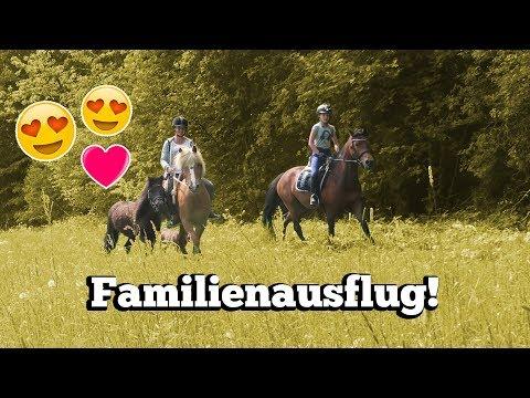 MIT ALLEN DREI PONYS AUSREITEN! 😱😍   Unser großer Familienausritt ❤️️   Marina und die Ponys
