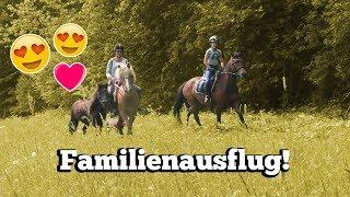 MIT ALLEN DREI PONYS AUSREITEN! 😱😍 | Unser großer Familienausritt ❤️️ | Marina und die Ponys