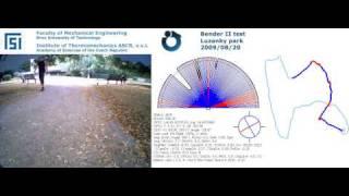 Bender II, test 13a (brutalni nehomogenita mag. pole)