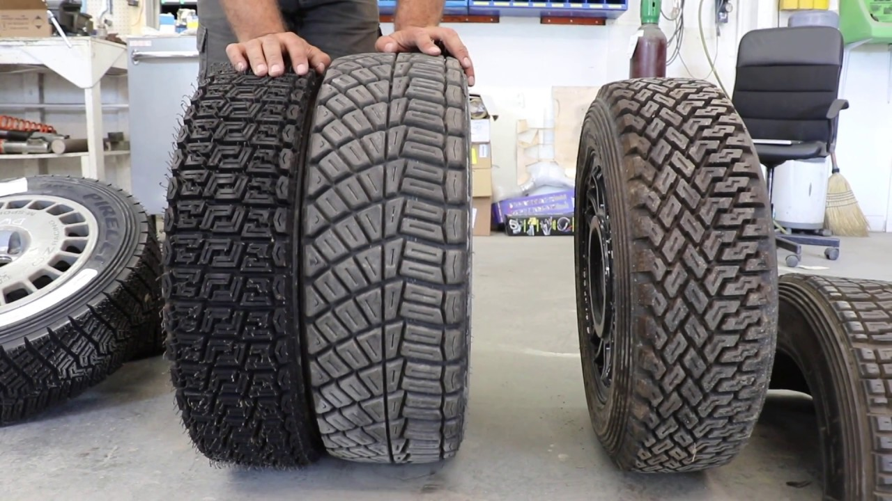 Rally Tires Explained Youtube