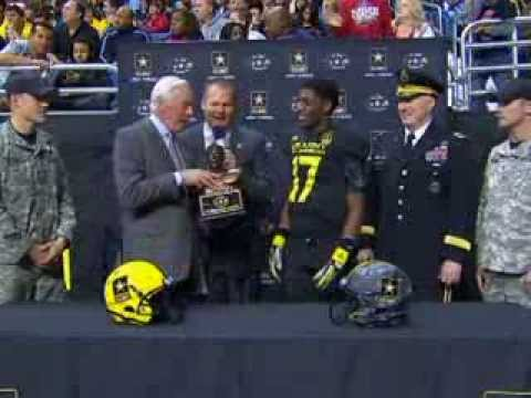 2013 Army Bowl | James Quick MVP Presentation