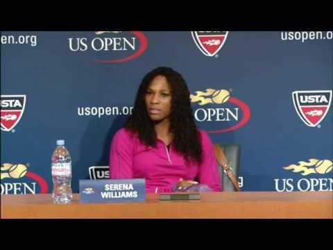 2012 US Open Press Conferences: Serena Williams (Pre-Event)