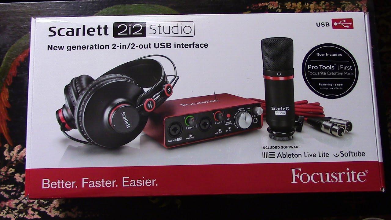 Focusrite 2i2 Studio 2nd Gen