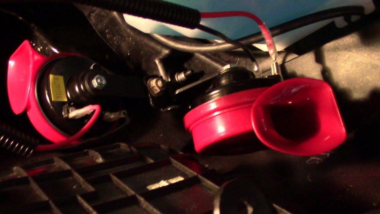 medium resolution of love my new car horns double horn sounds great kia forte