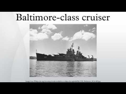 Baltimore-class cruiser