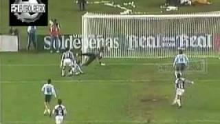 Racing 1 vs Gimnasia LP 0 Clasificacion Copa Libertadores 1996 cancha River FUTBOL RETRO TV