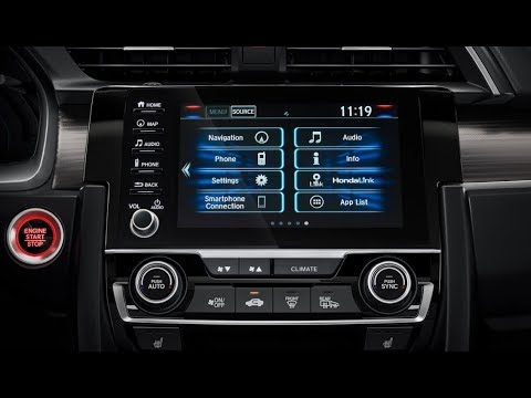 THE BEST!!! 2019 Honda Civic Infotainment System