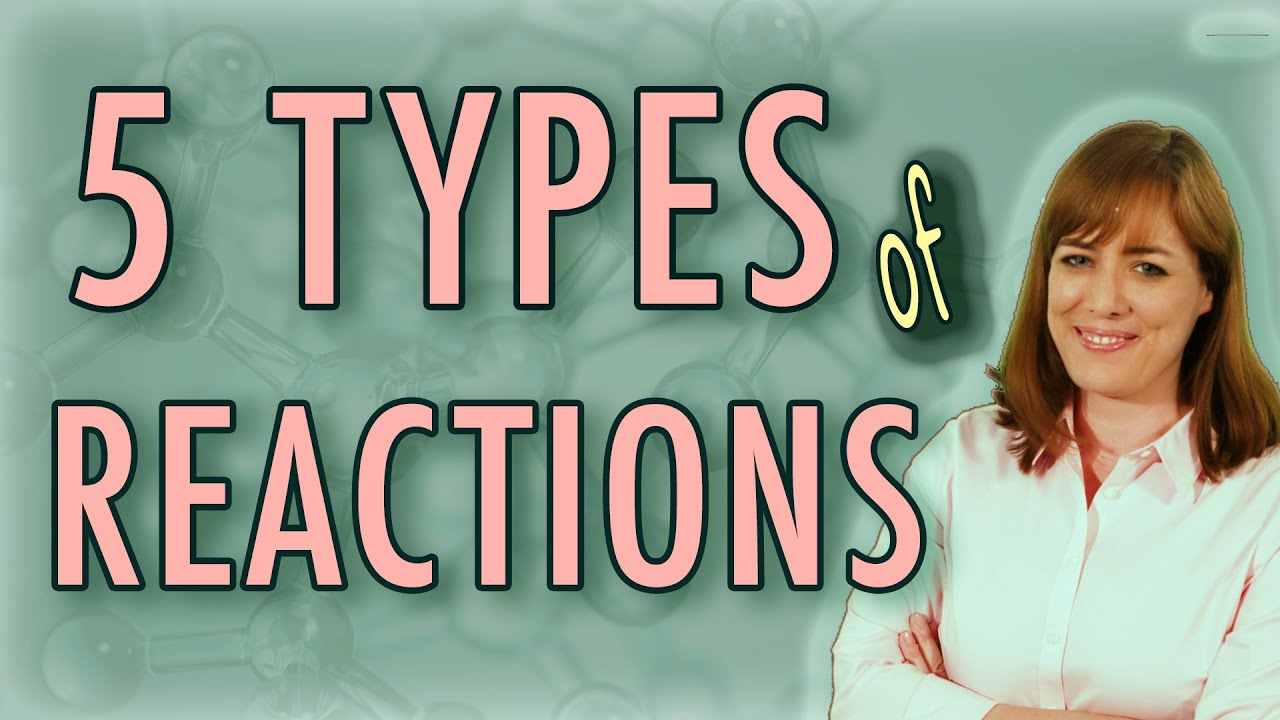 5 Types of Chemical Reactions (Chemistry) + Activity Series, Solubility Rules