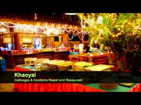 Cabbages & Condoms Restaurant Bangkok Thailand.wmv