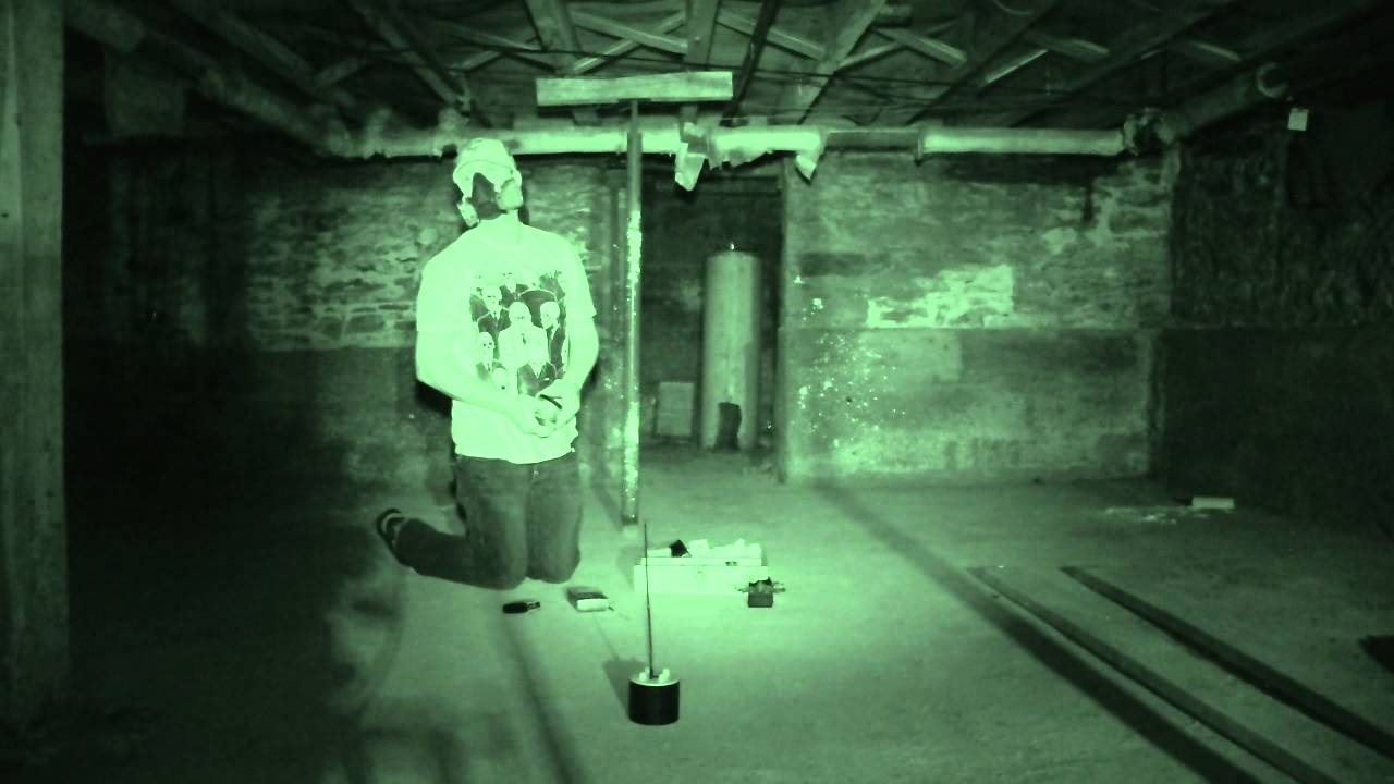 SCARY GHOST Video Caught on Tape  YouTube