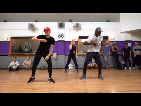 CHRIS BROWN POPPIN CHOREOGRAPHY  Steven Thompson