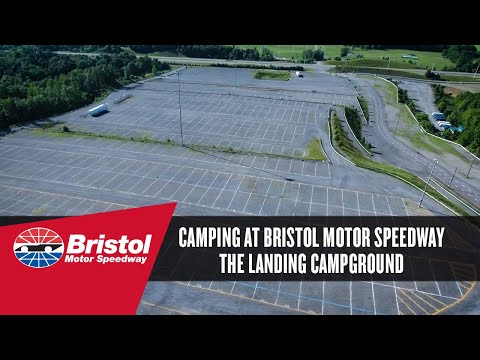 The landing campground at bristol motor speedway youtube for Camping bristol motor speedway