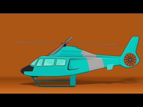 Helicopter   cartoon vehicles for children   passenger vehicles