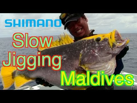 ● Slow Jigging Techniques In Maldives With OCEA JIGGER F CUSTOM ●